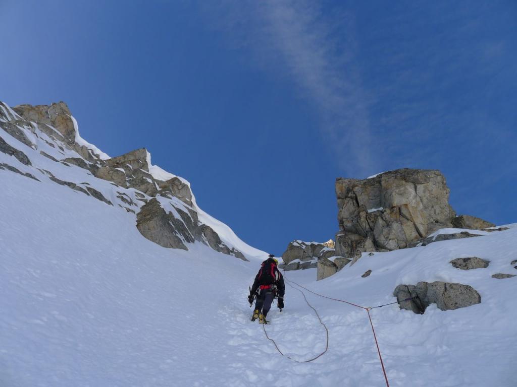 Nero di Presanella (Monte) Couloir dell'H 2012-11-18