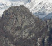 Testa di Betassa dal sentiero per Apiatour, sul versante opposto della valle Orco