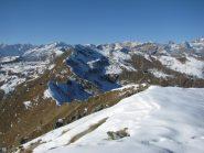 Dal Monte Croass, il Colle di Pian Pertus e Punta dell'Aggia