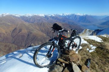 vista su Valtellina ed Alto Lago di Como