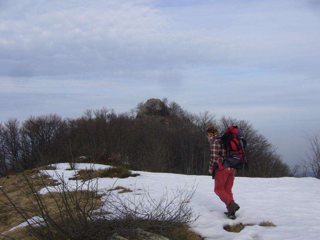nei pressi della cima Gutzart