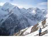 Ancora una maestosa inquadratura del Pizzo Montalto dal Gta all'Alpe Campo..