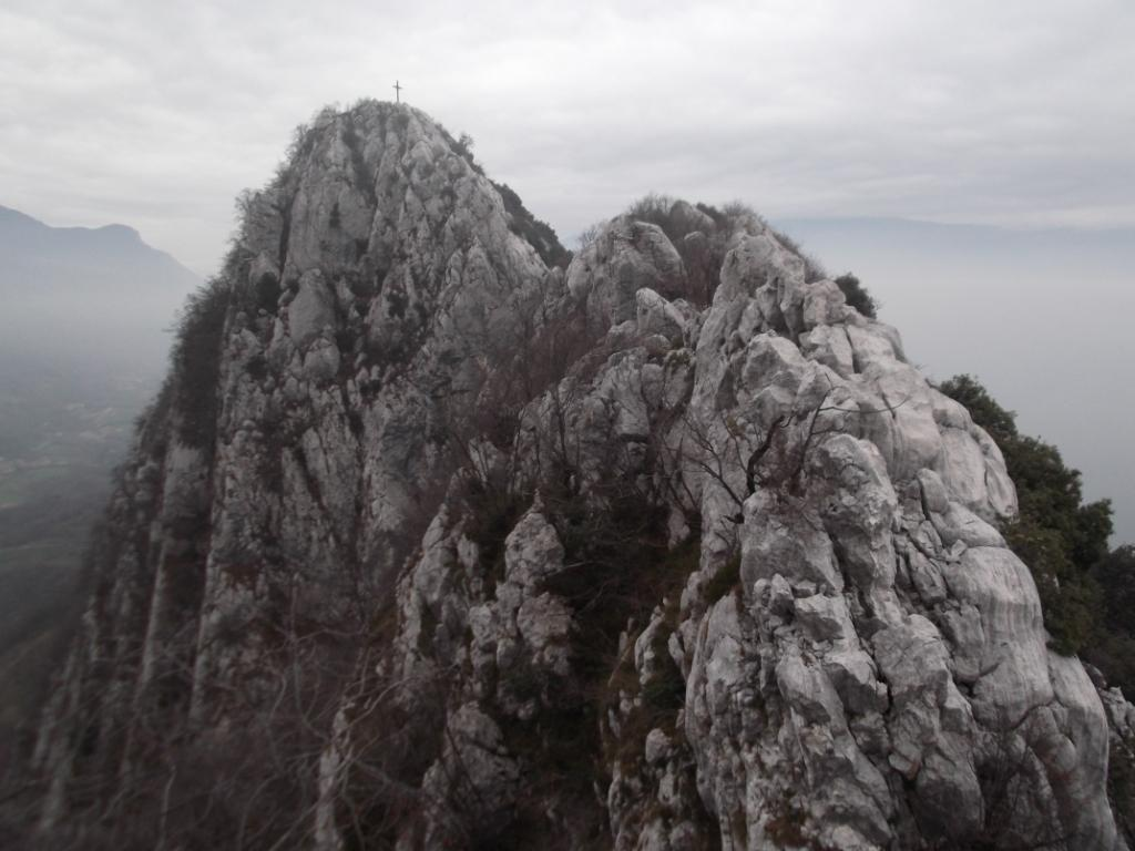Castello di Gaino (Monte) cresta Sud Ovest 2012-11-25