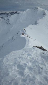 Cresta verso il Monte Faraut