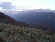 Valle dell'Orco dai prati di Palocco Nuovo