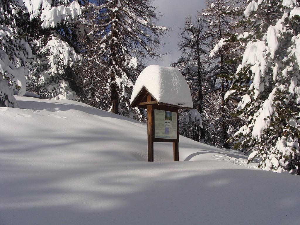 un po di neve