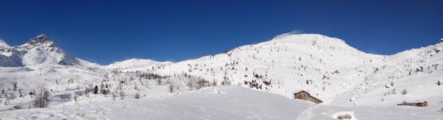dorsale Torretta - c.l. Bianco - c.d.l. Croix - cima Piana - c.d. Panaz