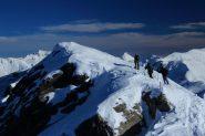 salendo la cresta finale del Creusa Occidentale (8-12-2012)