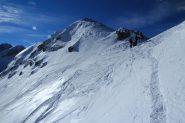 arrivando al colletto di quota 2325 m. (8-12-2012)