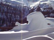 Sculture di neve naturali