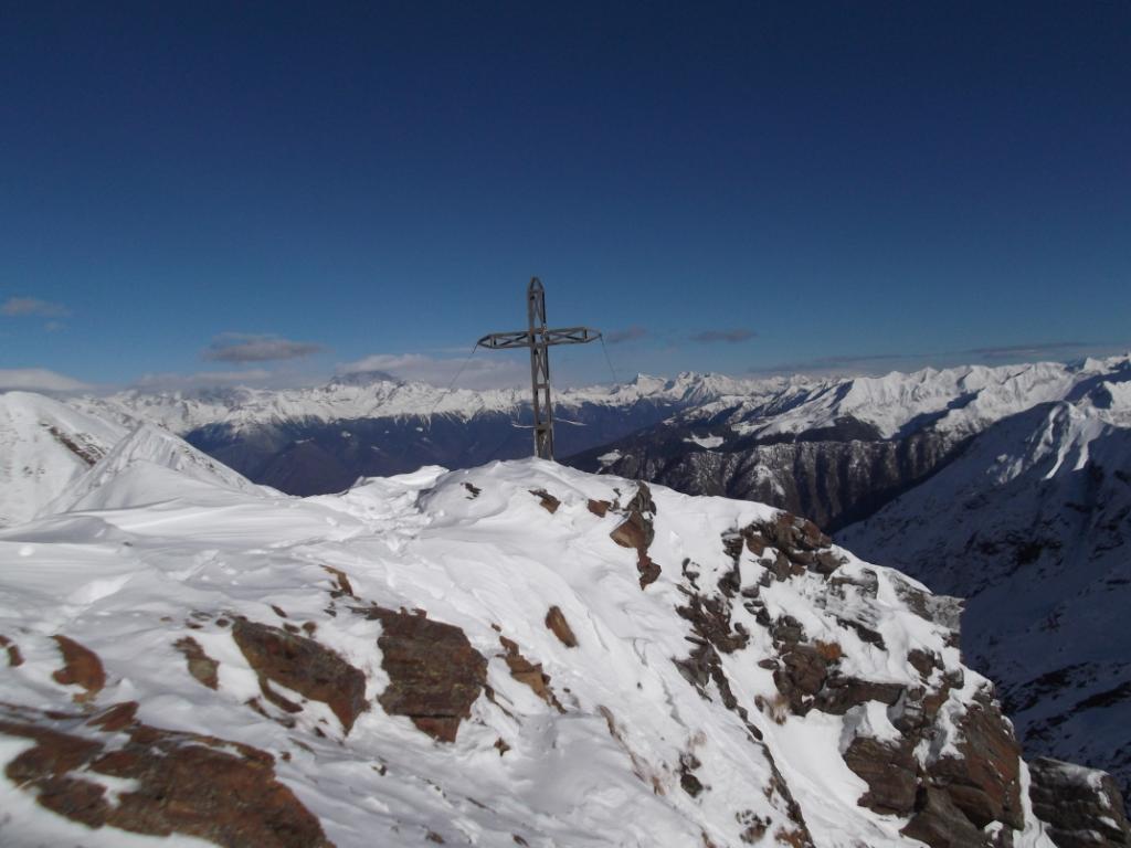 la croce del Pizzo della Cassera