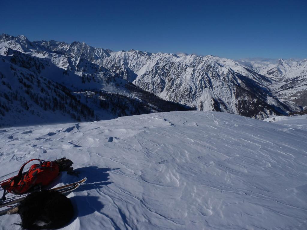 In cima al Monte Vaccia