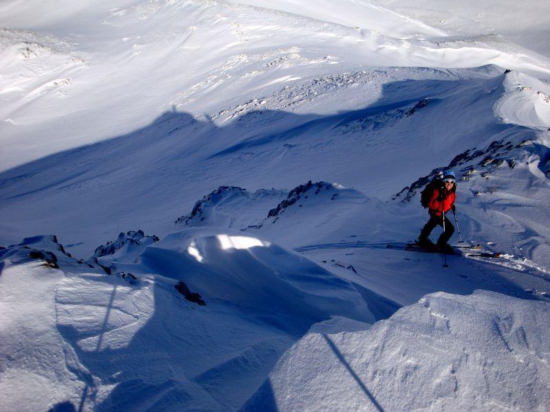 Serra Terratta Sud (Q.2122) per valle Ciaccariello 2012-12-12