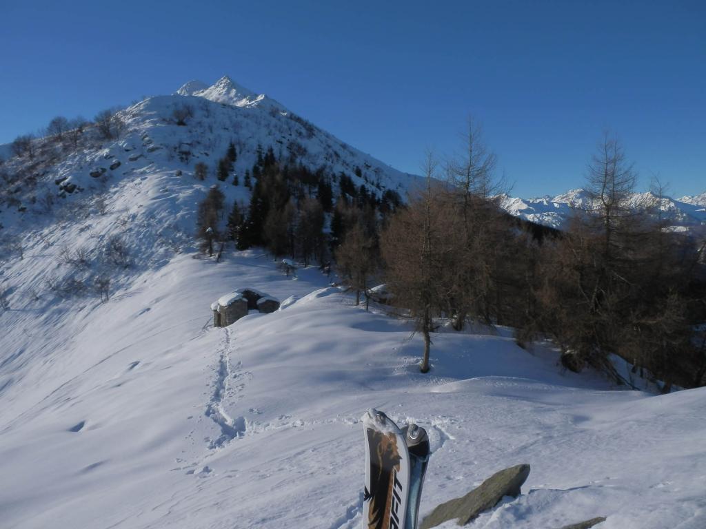 Artondù (Cima l') da Meschie di Pradeboni 2012-12-16