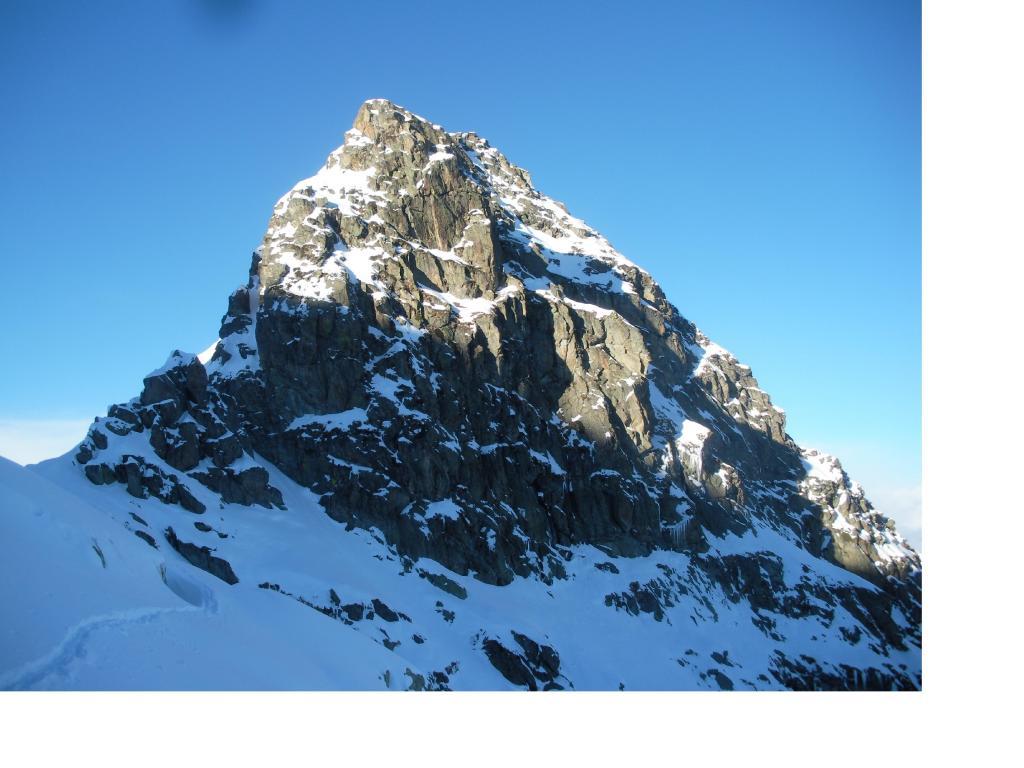 La Punta dei Camosci..a nord del colletto..