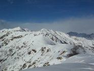 A sx Massa del Turlo a dx Forcolaccia (cresta Val Strona)