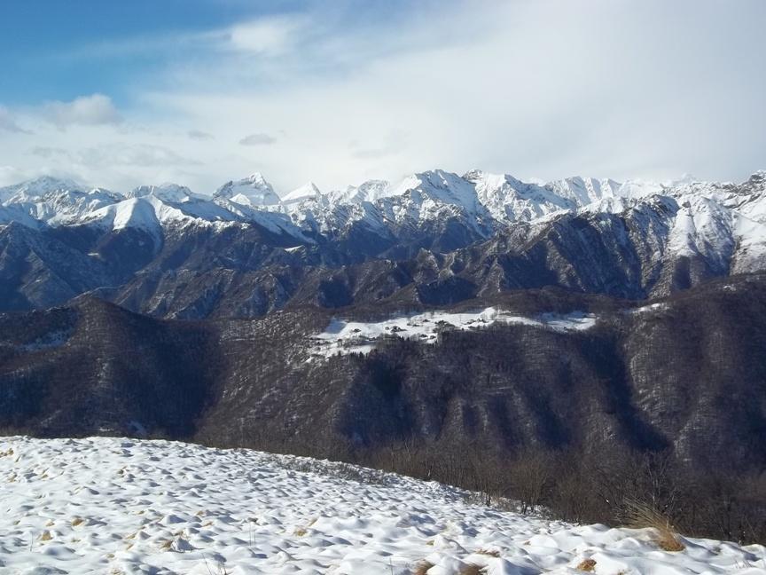 La Val Mastellone e al centro il Tagliaferro