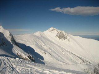 Cresta del M.Pianard e Rocca d'Orel.