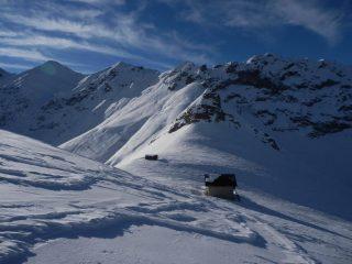 poco a monte del Colle Balur