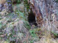 vecchia miniera di ferro sotto al Munt d'la Trempia