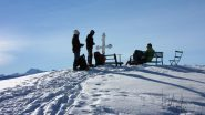 arrivati al Colle Birrone m. 1700 (22-12-2012)