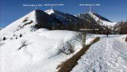 arrivando al Colle Birrone (22-12-2012)