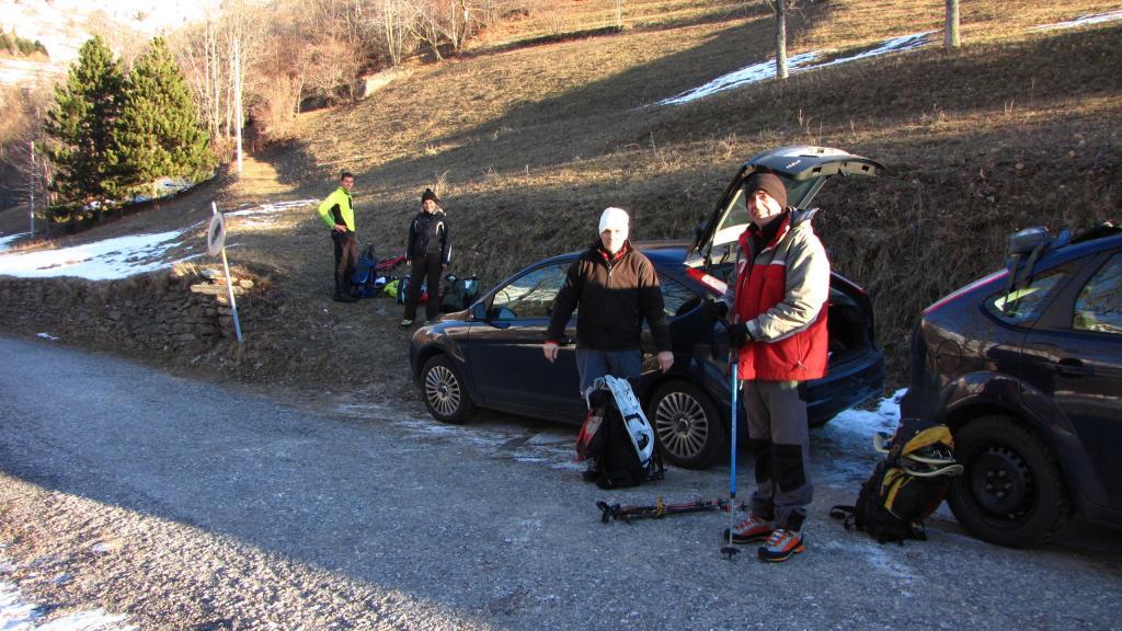 preparativi prima della partenza (22-12-2012)