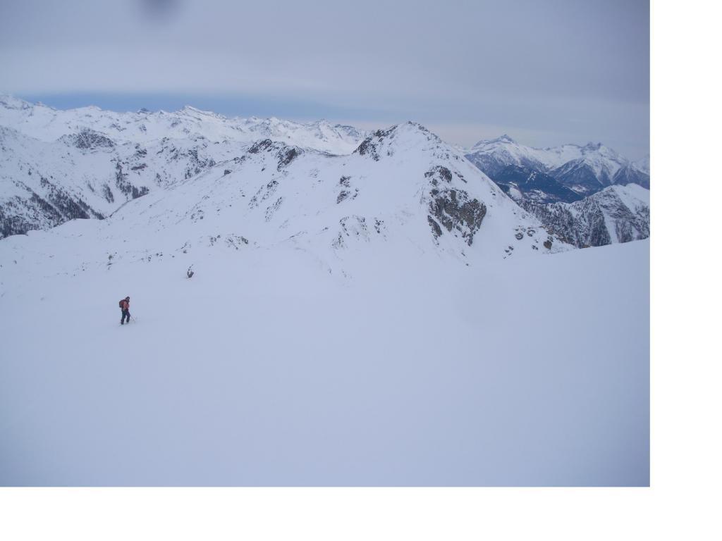 Il Mont Morion dai pressi del Col Chaleby..