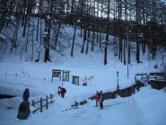 Imbocco del sentiero n° 9 per il Col di Sort