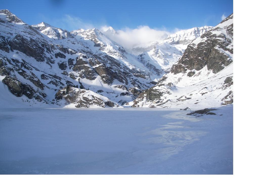 Il lago..nella morsa del ghiaccio