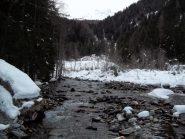 Rio Colobiascia dal Ponte del Balm Ros