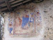 Dipinto su baita a Magna Fioria