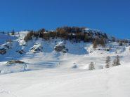 la cima del Monte Rotta (2245 m), versante sud-est