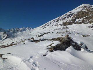 Gias dei laghi e cresta Barruard