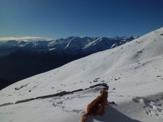pausa all'alpe Savine