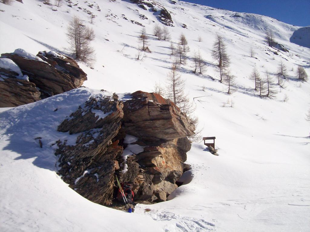 San Martino (Forni di) da Pattemouche per il Rifugio Troncea 2013-01-03