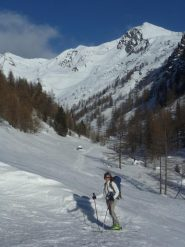Il colle dall'alpeggio