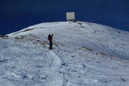 Luigi a pochi minuti dalla cima (5-1-2013)