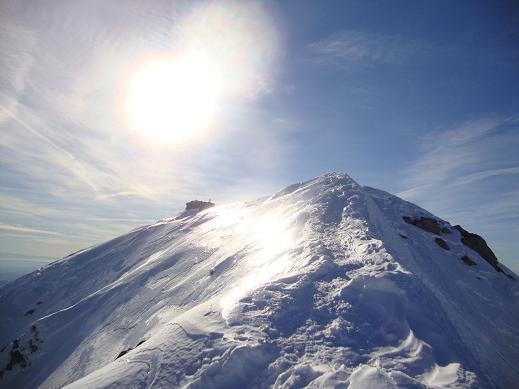 cresta finale alla cima