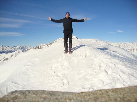 cima del monte Mucrone