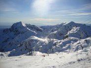 Monte Mucrone , monte Rosso e Mombarone visti dalla Capanna Renata
