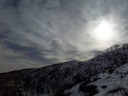 Il Monte Croce ... si intravede ancher la Croce