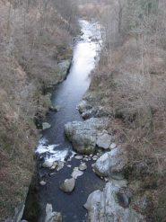 Torrente Chiusella visto dal ponte vecchio