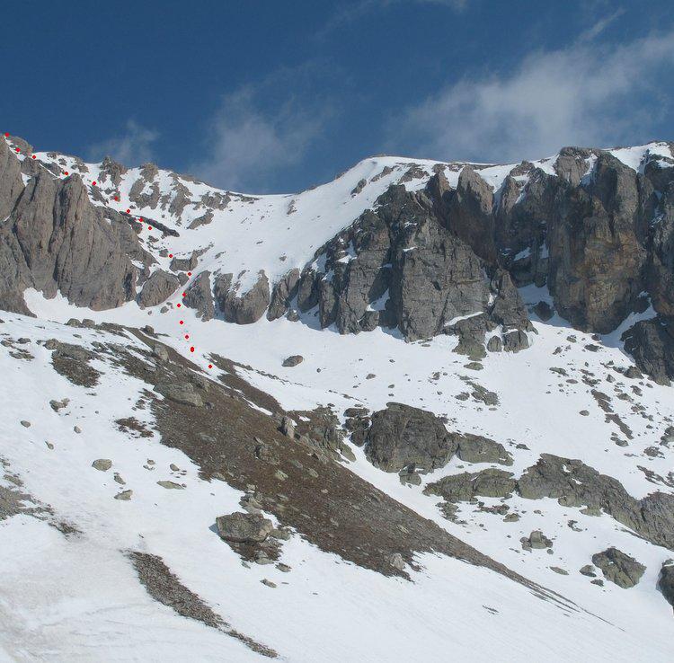 Itinerario dai laghi di Roure (da Skitour)