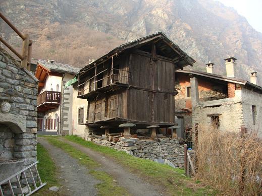Caratteristica casa di Gettaz