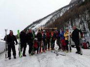 gruppo scialpinisti....