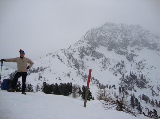 Punto più alto della cresta Leretta mt 2055