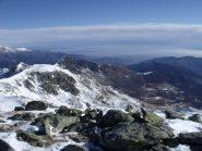 Ciriunda e Rocca Moross dalla cima