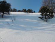 Molta neve sul percorso