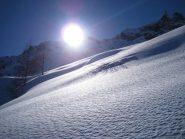 La neve di oggi..